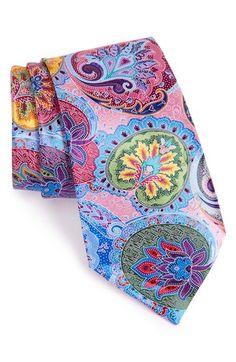 Ermenegildo Zegna 'Venticinque' Paisley Silk Tie