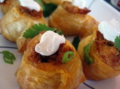 Super Bowl party food for a crowd:  Mexican chicken pinwheel recipe