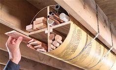 Tubular Storage - Woodworking Shop