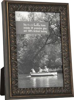 Gusto Smoked Bronze Leaves Picture Frame