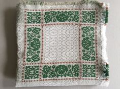 A personal favorite from my Etsy shop https://www.etsy.com/listing/471858001/woven-linen-table-cloth-green-grey-off
