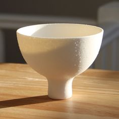 Otsukimi Bowl in White Rock With Stem