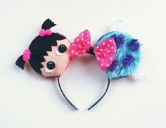 A personal favorite from my Etsy shop https://www.etsy.com/listing/260745882/sully-and-boo-disney-inspired-ears