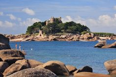 In the pink: the Côte de Granit Rose at Perros-Guirec (GETTY)