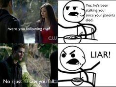 Vampire Diaries Flashback Funny: Stalker Stefan http://sulia.com/my_thoughts/b53e5da2-d45d-4907-b7a7-7a5486725c17/?pinner=54575851