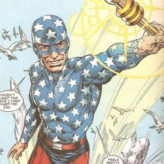 All-Star Squadron Members - STAR SPANGLED KID