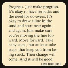 Excerpt from Unglued by Lysa TerKeurst