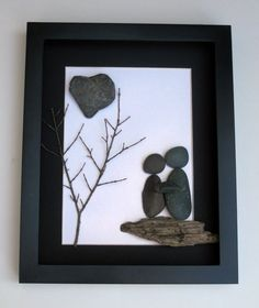 Couples Art and Personalized Gift - Love Gifts - Stone Art Work on Etsy, $50.00 CAD