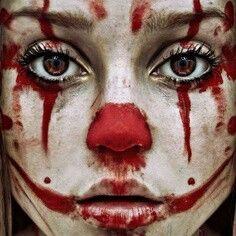Halloween Make Up Clown