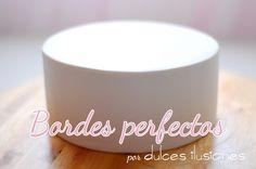 Tarta bordes perfectos | Repostería creativa y Tienda online