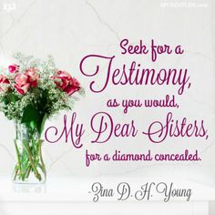 Zina D. H. Young Quote - mybestlds.com