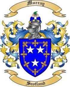 Murray Family Coat of Arms from Scotland