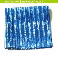 Napkin Flash SALE Linen Cloth Napkin Indigo Blue by RusticLoom
