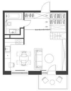 Gallery of House Plans Under 50 Square Meters: 26 More Helpful Examples of Small-Scale Living - 38