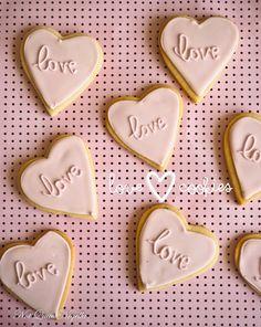 Love Heart Cookies @notquitenigella