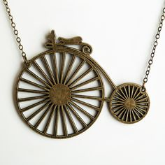 Bicycle Necklace design inspiration on Fab.