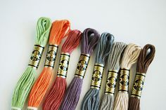 New DMC Colors by wildolive, via Flickr