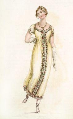 Ball Dress: 19th century 1811 AD - 1811 AD