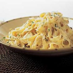 I always make America's Test Kitchen version of alfredo sauce, it's simple, consistently delicious, and easily customizable.  Just make sure the ingredients are high quality (no pre-packaged shredded parmesan! no margarine! no low-fat-anything!) and you can't go wrong.