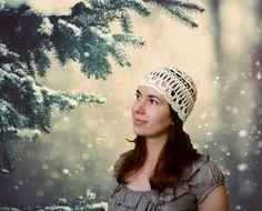 Boho Crochet Hat   Slouchy Women's Beanie   Lemon by ItWasYarn