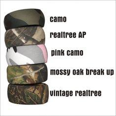 Camo bracelet bangle camouflage jewelry mossy oak realtree military