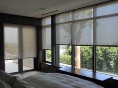 Screens en el área de dormitorio, Aproveche el paisaje que rodea las habitaciones de su hogar, rancho de playa u hotel con cortinas en tejido screen.