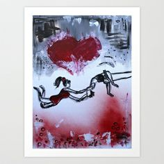 trust Art Print by sladja - $22.88