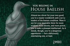 I took Zimbio's 'Game of Thrones' house quiz and I'm House Baelish! Which house do you belong in?
