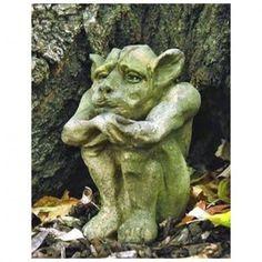 Another cute Dedo gargoyle #gardengargoyles