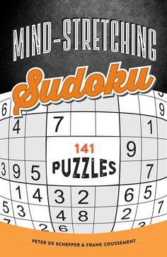 MIND-STRETCHING SUDOKU Available September 1, 2015 from the Imagine Publishing imprint