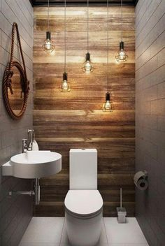 66 epic wood bathroom design ideas with Flare Far - 66 epic wooden bathroom conception ideas with flare far - Small Half Bathrooms, Bathroom Design Small, Amazing Bathrooms, Bath Design, Design Design, Design Trends, Gray Bathrooms, Tan Bathroom, Bathroom Layout