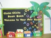 A large collection of bulletin board ideas.
