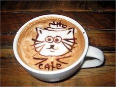 Community Post: 10 Cat Coffee Art Masterpieces!