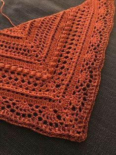 Lost in Time pattern by Johanna Lindahl Crochet Wool, Crochet Chart, Crochet Stitches, Crochet Shawls And Wraps, Crochet Scarves, Crochet Clothes, Crochet Designs, Crochet Patterns, Shawl Patterns