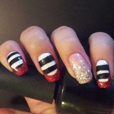 Pinterest inspired Wizard of Oz halloween nail art.#OPI