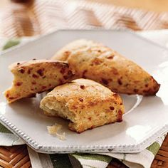 Pair these Buttermilk #Cheese Scones with some over easy #eggs!  Talk about #AMAZING!