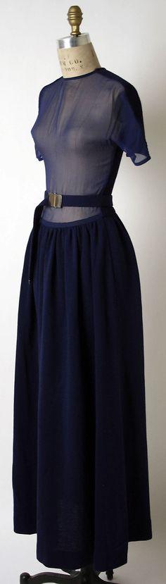 Dress Rudi Gernreich (American, born Austria, 1922–1985) Date: ca. 1972 Culture: American Medium: wool, silk, metal Dimensions: [no dimensions available] Credit Line: Purchase, Irene Lewisohn Bequest, 1993