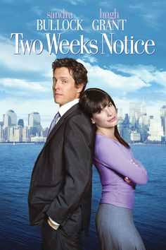 Two Weeks Notice : Sandra Bullock | Hugh Grant ( http://purplevelvetproject.com/timeless-chick-flicks/ ) Best Chick Flicks of all time | Classic Chick Flicks | Chick Flicks Movies | Girl Night | Pyjama Party Ideas | Girls night party ideas | Romantic Movies | Timeless Chick Flicks | Pajama Party Ideas | Top list of chick flicks films | Romantic Comedy Films | Hollywood | Netflix | Teenage Chick Flicks | Clean Chick Flicks | 90s Chick Flicks | Funny Chick Flicks @purplevelvetpro