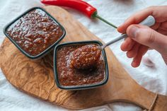 Indulgent Thai chilli paste Thai Chili Paste Recipe, Chilli Paste, How To Make Ramen, Shrimp Paste, Spicy Thai, Non Stick Pan, Fish Sauce, Rice Vinegar, Vegan Gluten Free