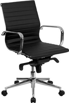 Flash Furniture Mid-Back Black Ribbed Upholstered Leather Conference Chair Flash,http://www.amazon.com/dp/B008OTSG00/ref=cm_sw_r_pi_dp_XiQGsb0YJ674TWS3