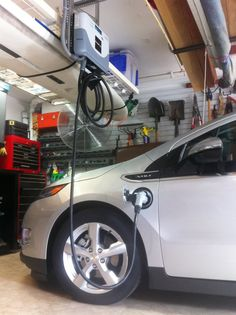 Plugin...Recharge!: Residential Level 2 EV Charger Roundup Electric Charging Stations, Ev Charger, Electric Charge, Gas Station, Chevy, House Design, Cars, Vehicles, Green
