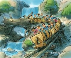 Seven Dwarfs Mine Train - Magic Kingdom Fantasyland Expansion, expected to open Spring 2014
