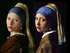 "Elevated to superstar status by a best-selling 1999 novel and a 2003 film starring Scarlett Johansson and Colin Firth, Johannes Vermeer's 17th century masterpiece ""Girl With a Pearl Earring"" is drawing unprecedented crowds at The Frick in New York City. Expert explains how the pearl in the painting was rendered at our blog. Click link, LIKE and SHARE."