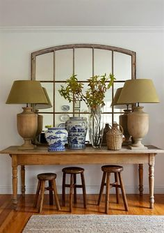 Lee Caroline   A World Of Inspiration: Harmonious Design By Kelly McGuill.  Entry TablesConsole ...