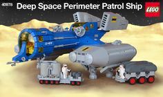 """This guy's """"Neo-Classic Space Lego Sets"""" are EPIC."""