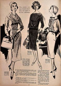 Inside Woman and Home magazine from November 1958