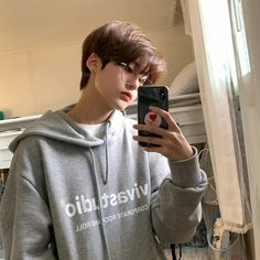 Discover recipes, home ideas, style inspiration and other ideas to try. Short Hair Tomboy, Short Hair For Boys, Asian Short Hair, Girl Short Hair, Short Hair Korean Style, Korean Short Hairstyle, Couple Ulzzang, Korean Boys Ulzzang, Ulzzang Boy