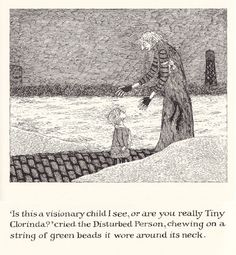 """The Green Beads: Edward Gorey and the """"Disturbed Person"""" 