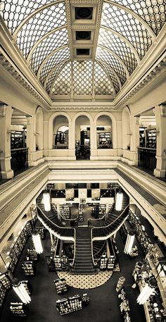 Waterstones bookshop in Birmingham, United Kingdom | Photography by Tom Brook