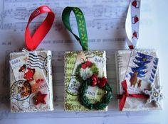 matchbox Christmas ornaments